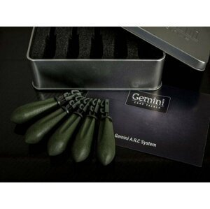 Gemini Carp Tackle A.R.C System Leads 3oz 85g Weed Green