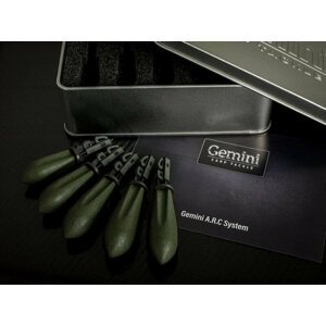 Gemini Carp Tackle A.R.C System Leads Mixed Weed Green