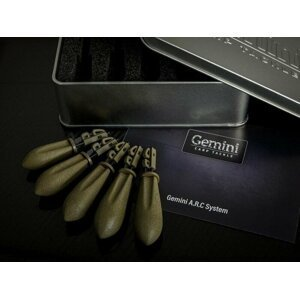 Gemini Carp Tackle A.R.C System Leads Mixed Silt Brown