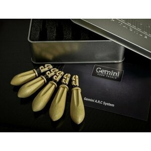 Gemini Carp Tackle A.R.C System Leads Mixed Sand Brown