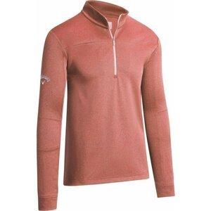 Callaway Waffle Fleece Mens Sweater Dubarry Heather XL