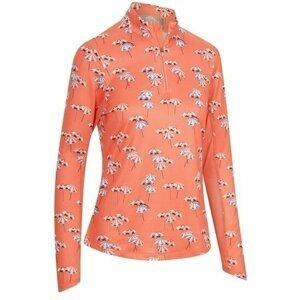 Callaway Parasol Print Sun Protection Womens Sweater Dubarry M