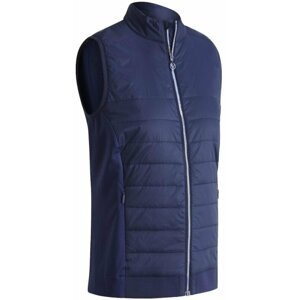Callaway Lightweight Quilted Womens Vest Peacoat M