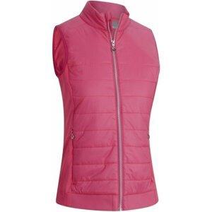 Callaway Lightweight Quilted Womens Vest Raspberry Sorbet L