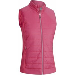 Callaway Lightweight Quilted Womens Vest Raspberry Sorbet S
