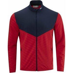 Kjus David Midlayer Mens Jacket Cosmic Red/Atlanta Blue 54