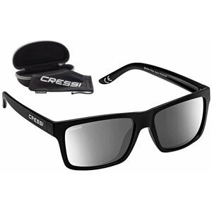 Cressi Bahia Black/Silver Mirrored Lenses