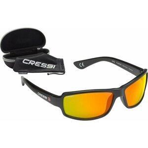 Cressi Ninja Black Mirrored Lens Orange