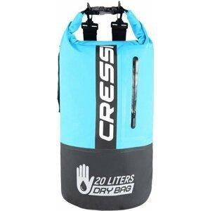Cressi Dry Bag Bi-Color Black/Light Blue 20L