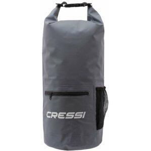 Cressi Dry Bag Zip Grey 10L