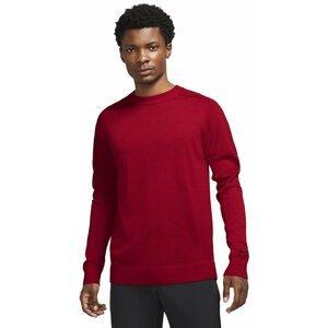 Nike Tiger Woods Mens Sweater Gym Red/Black L
