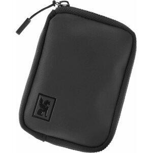 Chrome Zip Wallet Black