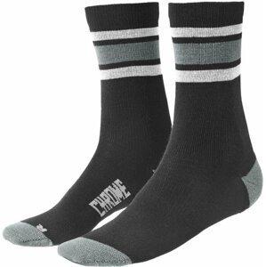 Chrome Merino Stripe Crew Ponožky