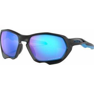 Oakley Plazma Matte Black/Prizm Sapphire Polarized