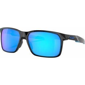 Oakley Portal X Polished Black/Prizm Sapphire