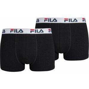 Fila Boxer 2-Pack Man Black/White L