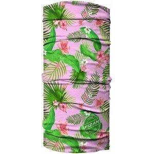 Fizan Multi Scarve Leaf Pink