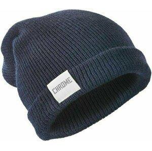 Chrome Wool Cuff Beanie Navy