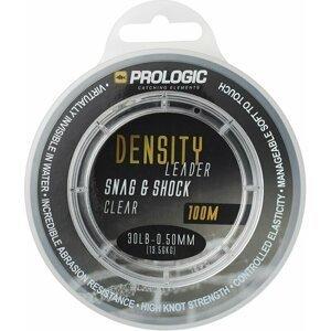 Prologic Density Snag & Shock Leader 100m 0.50mm 13.60kg 30lbs Clear