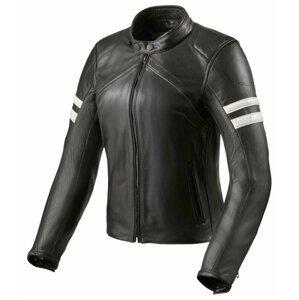 Rev'it! Jacket Meridian Black/White 36 Kožená bunda