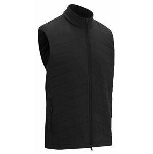 Callaway Full Zip Puffer Mens Vest Caviar 3XL