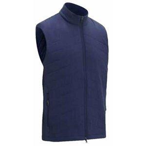 Callaway Full Zip Puffer Mens Vest Peacoat L