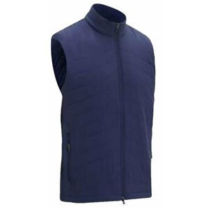 Callaway Full Zip Puffer Mens Vest Peacoat S
