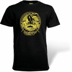 Black Cat Triko Established Collection T-Shirt černá