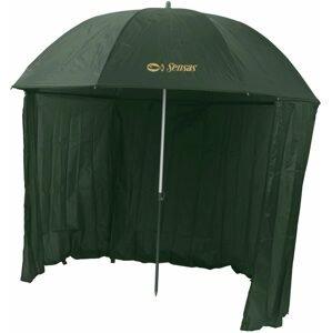 Sensas Deštník s bočnicí Liez 2,2m zelený