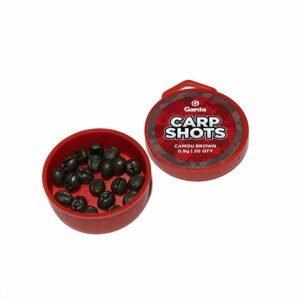 Garda Bročky Carp Shots Camou Brown - 0,9g 20ks