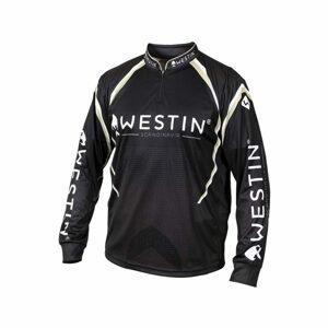 Westin Triko LS Tournament Shirt Black/Grey - M