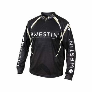 Westin Triko LS Tournament Shirt Black/Grey - XXL