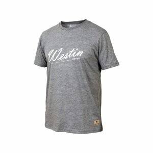 Westin Triko Old School T-Shirt Grey Melange - XL