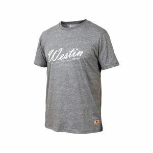Westin Triko Old School T-Shirt Grey Melange - XXL