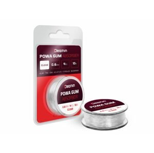 Delphin Feederová Guma Powa Gum Absorber Čirá - 0.6mm/4kg/10m