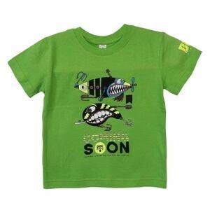 DOC Dětské triko Třpytky zelená