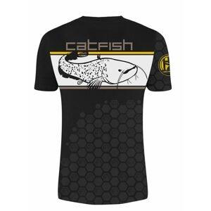Hotspot Design Tričko Linear Catfish - XXL