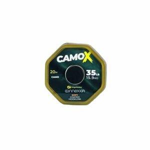 RidgeMonkey Šňůrka Connexion CamoX Soft Coated Hooklink 20m - 35lb
