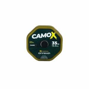 RidgeMonkey Šňůrka Connexion CamoX Stiff Coated Hooklink 20m - 25lb