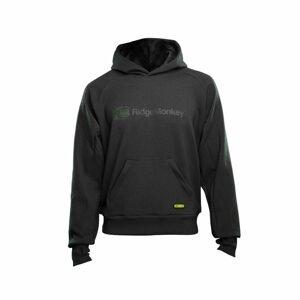 RidgeMonkey Mikina APEarel Dropback MicroFlex Hoody Grey - S