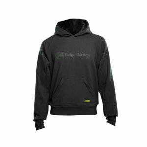 RidgeMonkey Mikina APEarel Dropback MicroFlex Hoody Grey - M
