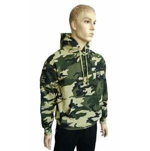 R-Spekt Mikina s kapucí Camou - L