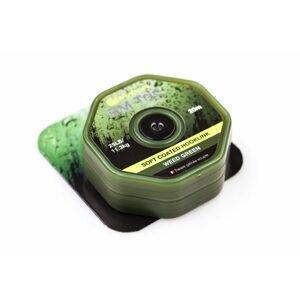 RidgeMonkey Šnůra RM-Tec Soft Coated Hooklink 20m - 25lb Zelená