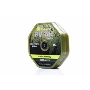 RidgeMonkey Vlasec RM-Tec Chod Stiff Rig Zelená 20m