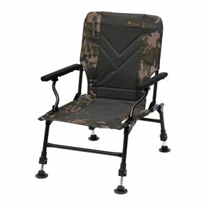 Prologic Křeslo Avenger Relax Camo Chair W/Armrests & Covers
