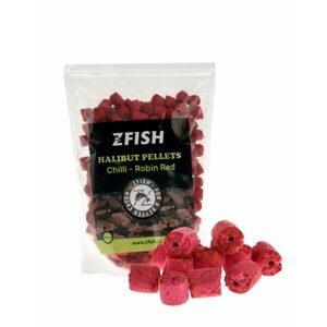 Zfish Pelety Halibut Pellets 10mm 1kg - Chilli-Robin Red