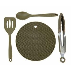 Trakker Silikonové kuchyňské nádobí Armolife Silicone Utensil Set