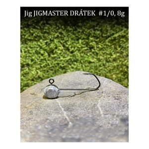CFA Jigové hlavičky Jigmaster Drátek vel.1/0 5ks - 6g