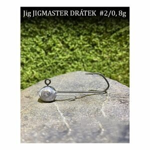 CFA Jigové hlavičky Jigmaster Drátek vel.2/0 5ks - 10g