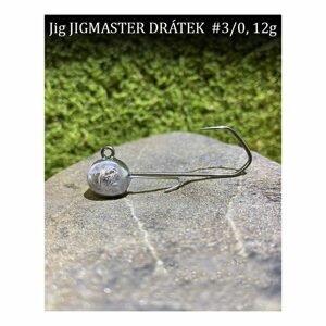 CFA Jigové hlavičky Jigmaster Drátek vel.3/0 5ks - 16g